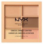 Палитра для контуринга и коррекции NYX Professional Makeup 3C Conceal Correct Contour Palette