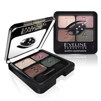 Тіні для повік Eveline Cosmetics Quattro Eye Shadow
