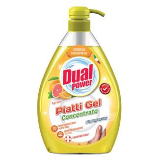 """Гель для мытья посуды """"Цитрусовый"""" Dual Power Dishwasher Gel Citrus"""