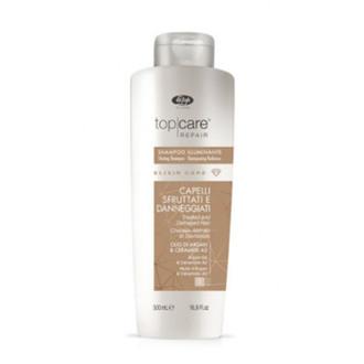Шампунь для блеска волос Lisap Top Care Repair Elixir Care Shining Shmapoo