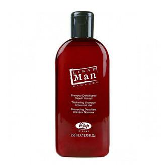 Уплотняющий шампунь для мужчин Lisap Man Thickening Shampoo