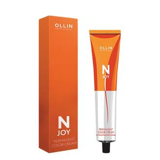Перманентная крем-краска для окрашивания седых волос Ollin Professional N-Joy