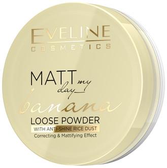 Рассыпчатая банановая пудра для лица Eveline Cosmetics Matt My Day Banana Loose Powder