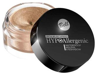 Водостойкие тени для век Bell Cosmetics HypoAllergenic Waterproof Mousse