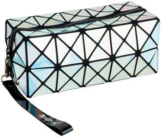 Фото Голографическая косметичка PARFUMS Beauty Bag серебряная