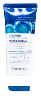 Увлажняющий ВВ-крем с коллагеном FarmStay Collagen Water Full Moist Premium BB Cream