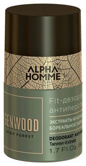 Дезодорант антиперспирант Estel Professional Alpha Homme Genwood Deodorant