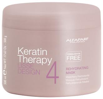Кератиновая маска для волос Alfaparf Lisse Design Keratin Therapy Rehydrating Mask