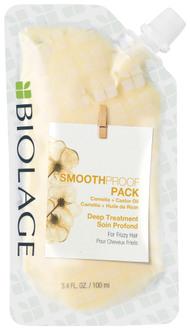 Маска-концентрат для глубокого восстановления кудрявых волос Biolage SmoothProof Pack Deep Treatment