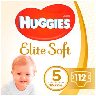 Подгузники Huggies Elite Soft 5 (12-22 кг)