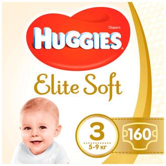 Підгузки Huggies Elite Soft 3 (5-9 кг)