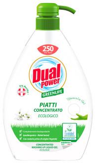 Гель для мытья посуды Dual Power Dishwasher Gel Green Life