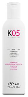 Шампунь против выпадения волос Kaaral K05 Anti Hair Loss Shampoo