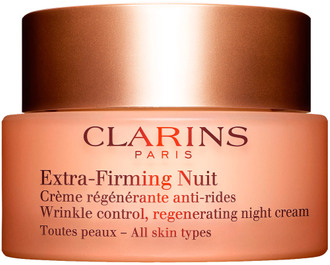 Ночной крем для всех типов кожи Clarins Extra-Firming Nuit Wrinkle Control Regenerating Night Cream All Skin