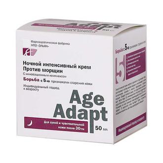 Фото Ночной интенсивный крем против морщин Age Adapt Anti-Wrinkle Cream