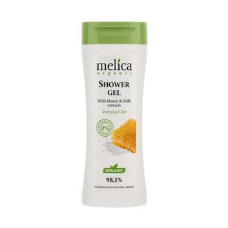 Фото Гель для душа с экстрактом молока и меда Melica Organic