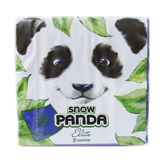 Фото Сині столові серветки Сніжна Панда