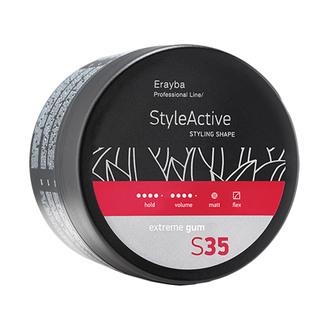 Фото Моделююча паста сильної фіксації Erayba Style Active S35 Extreme Gum