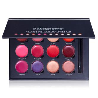Фото Палетка помад из 12 оттенков Bellapierre 12 Color Pro Lip Palette