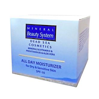 Фото Увлажняющий дневной крем для сухой и чувствительной кожи Mineral Beauty System All Day Moisturizer SPF10