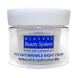 Фото Ночной крем для лица от морщин для нормальной и комбинированной кожи Mineral Beauty System Anti Wrinkle Night Cream