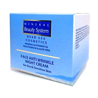 Фото Ночной крем для лица от морщин Mineral Beauty System Anti Wrinkle Night Cream for Dry and Sensitive Skin