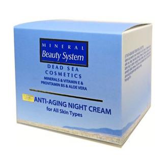 Фото Подтягивающий ночной крем для всех типов кожи Mineral Beauty System Anti-Aging Night Cream