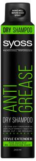 Фото Сухой шампунь для склонных к жирности волос Syoss Anti-Grease Dry Shampoo