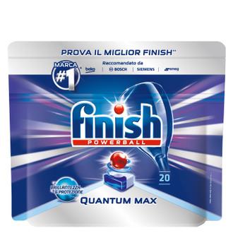 Фото Таблетки для посудомоечных машин Finish Quantum
