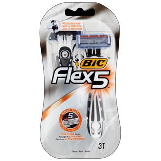 Фото Одноразовый мужской станок для бритья BIC Flex 5