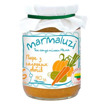 Фото Пюре из сладких овощей Marmaluzi