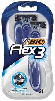 Фото Одноразовый мужской станок для бритья BIC Flex 3 Shaver