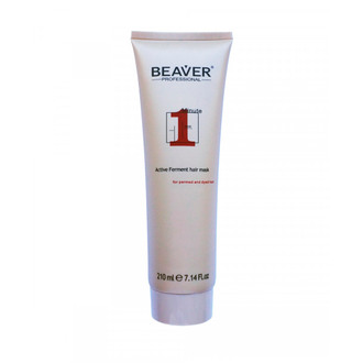 Фото Увлажняющая экспресс-маска для сухих и непослушных волос Beaver Professional Active Ferment Hair Mask