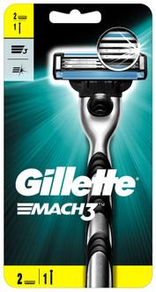 Фото Бритва со сменной кассетой Gillette Mach3