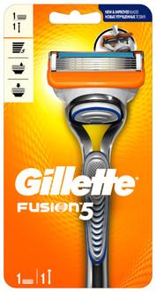 Фото Бритва со сменной кассетой Gillette Fusion