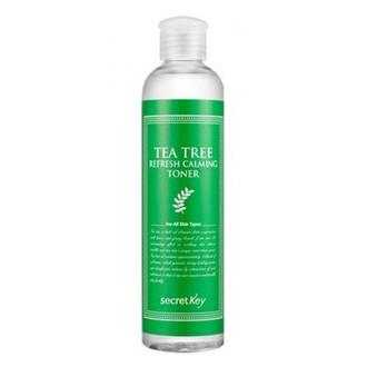 Фото Тонер для лица с маслом чайного дерева Secret Key Tea Tree Refresh Calming Toner