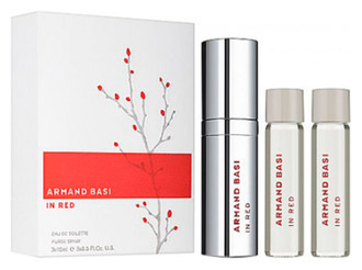 Фото Набор (edt 15 ml + refill edt 2x15 ml) Armand Basi In Red