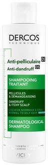 Фото Шампунь против перхоти усиленного действия для нормальных и жирных волос Vichy Dercos Anti-dandruff Shampoo