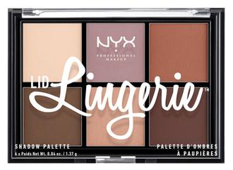 Фото Палетка теней NYX Professional Makeup Lid Lingerie Shadow Palette