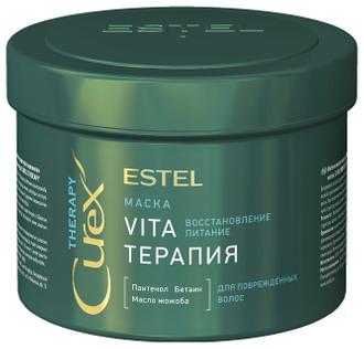Фото Интенсивная маска для поврежденных волос Estel Professional Curex Vita Therapy Mask