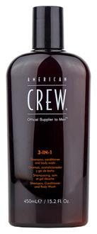Фото Средство по уходу за волосами и телом American Crew Classic Shampoo, Conditioner and Body Wash 3in1