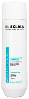 Фото Увлажняющий аргановый шампунь Luxliss Intensive Moisture Shampoo
