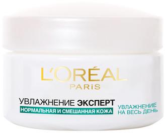 Фото Крем-гель «Увлажнение Эксперт» для нормальной и смешанной кожи L'Oreal Paris