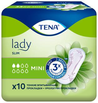 Фото Урологические прокладки для женщин Tena Lady Slim Mini