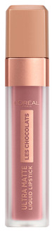 Фото Ультра-матирующая жидкая помада для губ L'Oreal Paris Les Chocolats Ultra Matte Liquid Lipstick