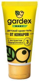 Фото Крем-гель от комаров с защитой от солнца Gardex Baby