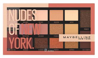 Фото Палетка теней для век Maybelline Nudes Of New York Palette