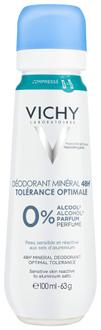 Фото Дезодорант для очень чувствительной кожи Vichy 48HR Mineral Deodorant Optimal Tolerance Spray