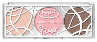 Фото Палетка для стробінгу Estrade Picasso Strobing Palette
