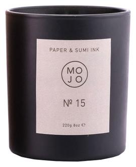 Фото Ароматична свічка Mojo Paper & Sumi Ink №15